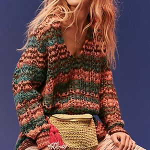 cc1e6551f91a7b Free People Sweaters - NWT Free People Spell On You Striped Sweater